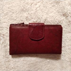 Handbags - ✴️ Burgundy/Oxblood Leather Wallet✴️